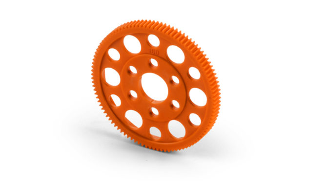 Orange ist beautiful – T4 Composite-Zahnräder