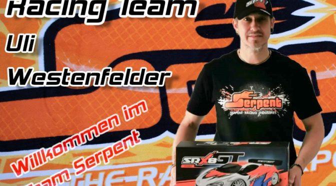 Neuer Serpent Teamfahrer – Uli Westenfelder