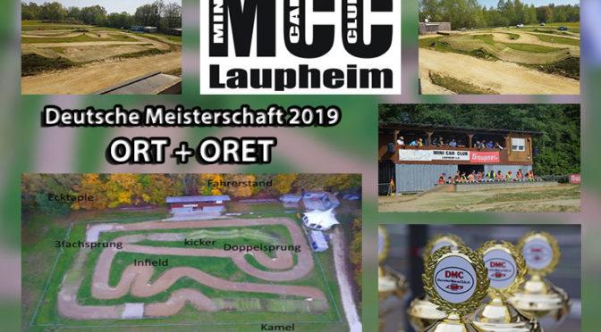 Deutsche Meisterschaft 2019 ORT + ORET beim MCC Laupheim