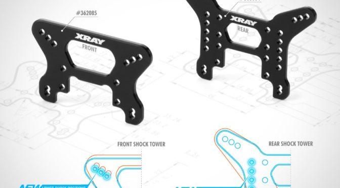 Aluminum-Dämpferbrücken für den XB4