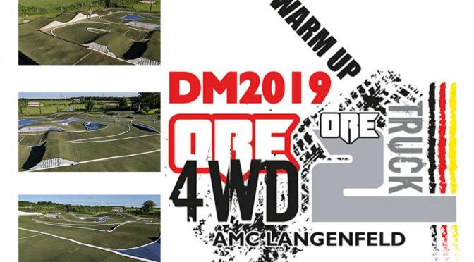 Der AMC-Langenfeld lädt zum WARM UP für die 4WD DM im Rahmen eines SK-/ NORC-Laufes ein