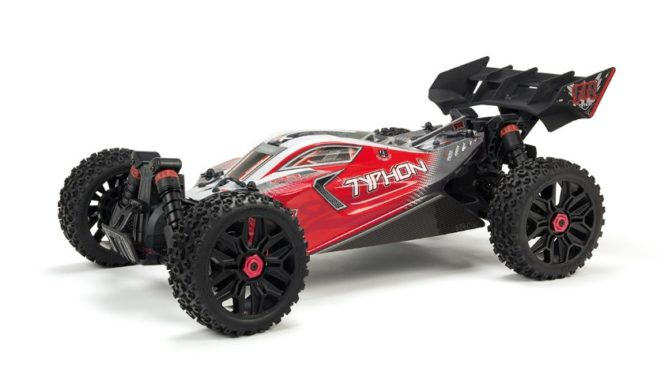ARRMA® 1/8 TYPHON™ 3S BLX 4WD SPEED BUGGY