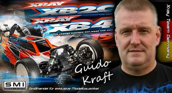 Guido Kraft im Team Xray Germany