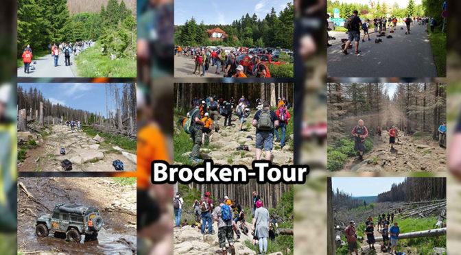 Brocken-Tour 2019 – Der Brocken war fest in Hand der Crawler und Scaler!