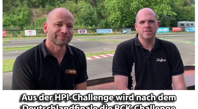 Aus der HPI-Challenge wird die RCK-Challenge nach dem Deutschlandfinale (DM) 2019