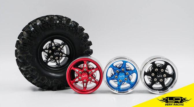 Yeah-Racing – 1,9″ Beadlock Felgen aus Aluminium