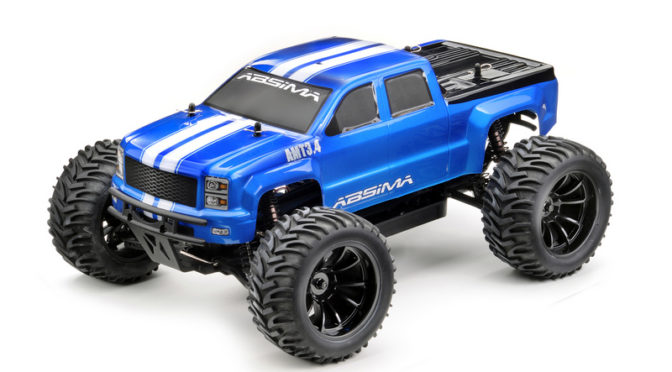 Macht süchtig – 1/10 EP Monster Truck AMT34BL 4WD Brushless RTR