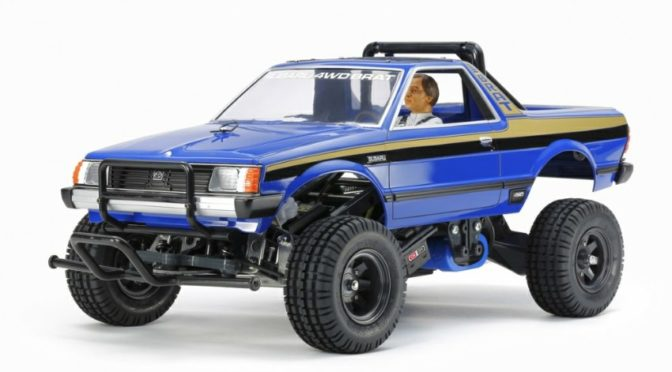 1:10 RC Subaru Brat Blue Version