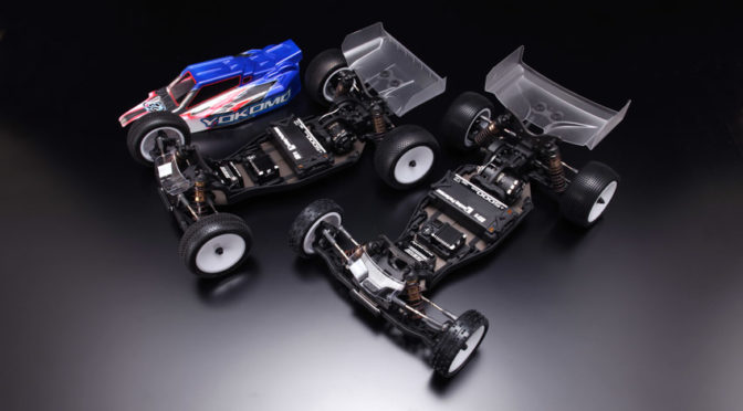 Yokomo präsentiert das YZ-2 DTM3 Race Kit