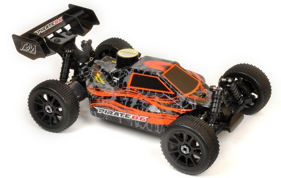 Pirate 4WD 1/8 RC OFF ROAD Verbrennerbuggy