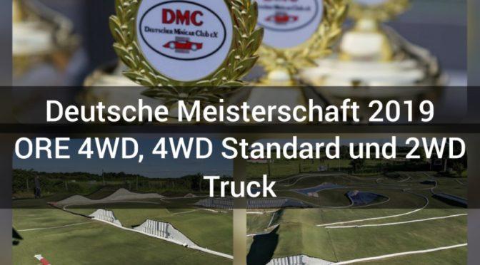 Deutsche Meisterschaft 2019 in ORE 4WD, 4WD Standard und 2WD Truck in Langenfeld