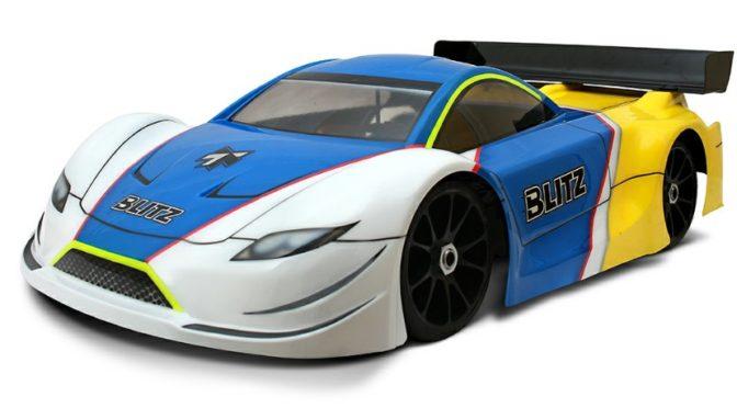 GT4 – Die neue BLITZ 1/8 GT Karosserie