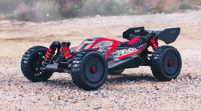 ARRMA® 1/8 TYPHON 4WD BLX BUGGY 6S RTR