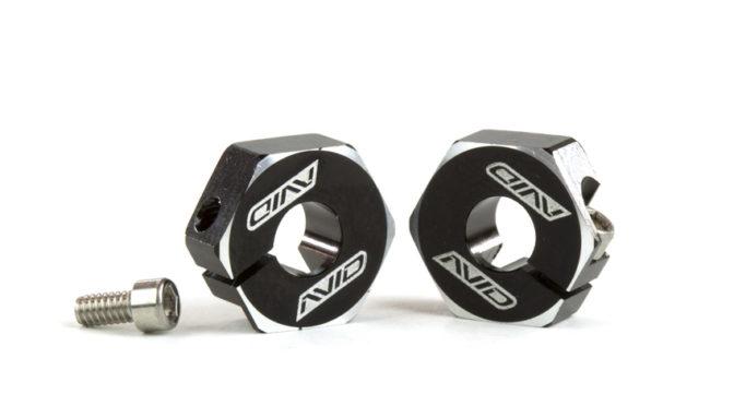 AvidRC – B74 / B6.1 Sechskantmitnehmer in Schwarz (5mm)