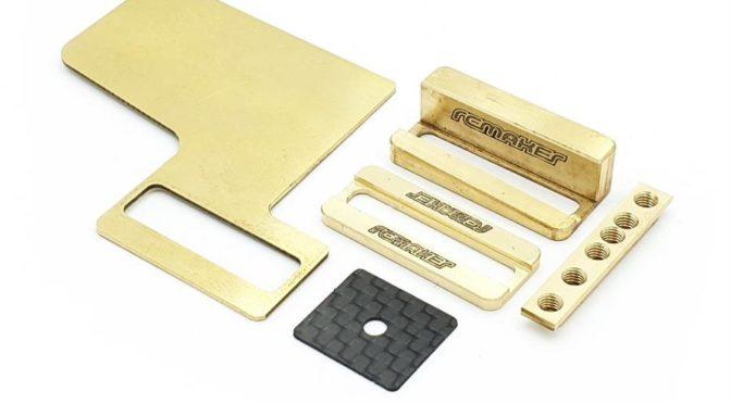 RC MAKER – Adjustable Floating Electronic Plate Set für den Awesomatix MMCX