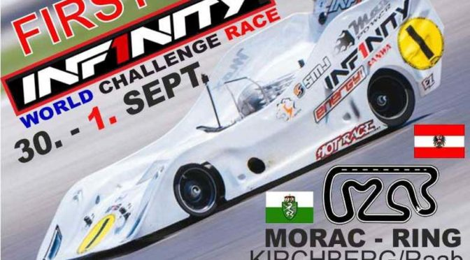 First INFINITY WORLD CHALLENGE RACE