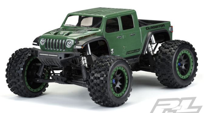 Jeep Gladiator Rubicon Karosserie