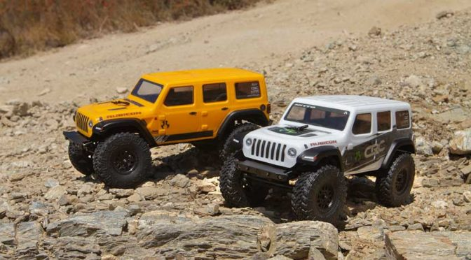 AXIAL® SCX24™ 2019 JEEP® WRANGLER JLU CRC 1/24 4WD RTR