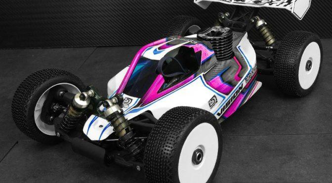 Bittydesign – VISION 1/8 Buggy Karosserie für den MBX8