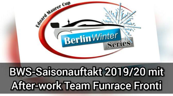 BWS-Saisonauftakt 2019/20 mit After-work Team Funrace Fronti