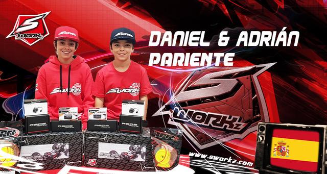 Daniel und Adrián Pariente wechseln ins SWORKz Spain Team
