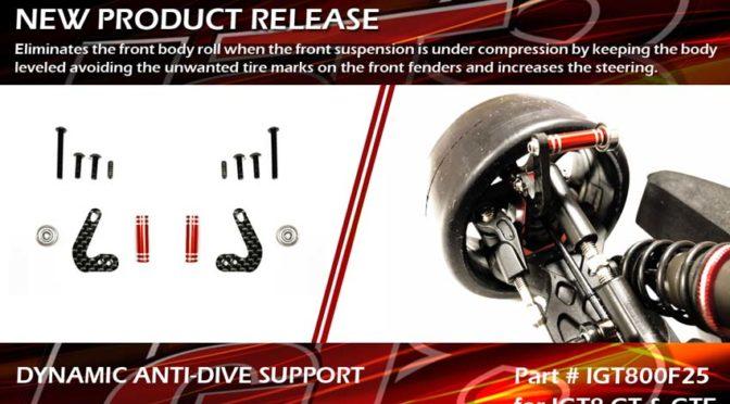Dynamic Anti-Dive Support für IGT8 GT und GTe