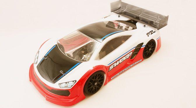 P2L GT8-Karosserie von Sweep Racing