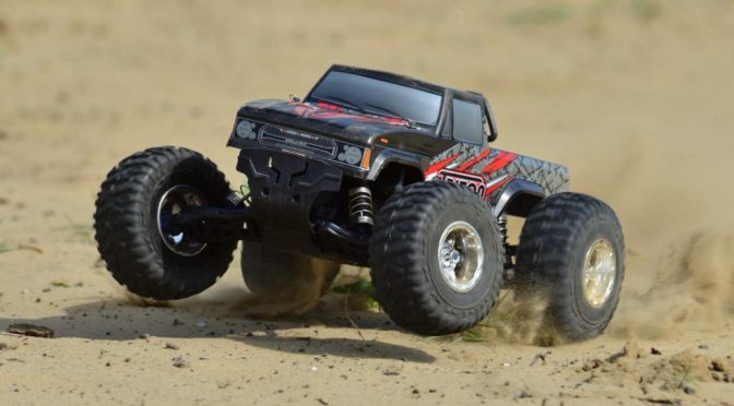 Team Corally – TRITON XP – 1/10 Monster Truck 2WD – RTR – Brushless Power 2-3S