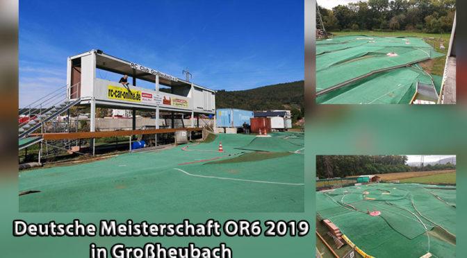 Endlauf Deutsche Meisterschaft OR6 2019 in Großheubach