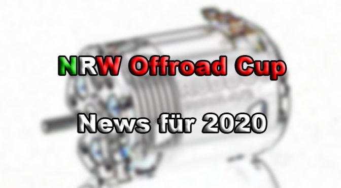 News vom NRW Offroad Cup – Regeländerungen Standardklassen 2020