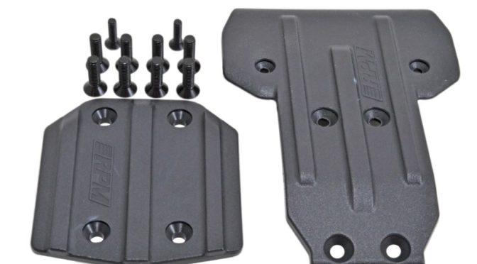 RPM – Front & Rear Skid Plates für die Losi Tenacity (SCT, T & DB)