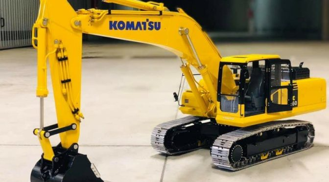 Consegna Komatsu PC360 RTR