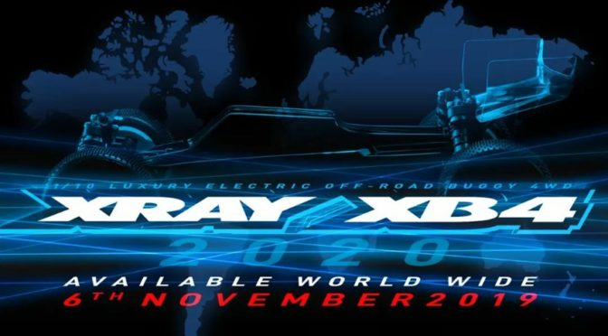Xray XB4'2020 ab 6.November