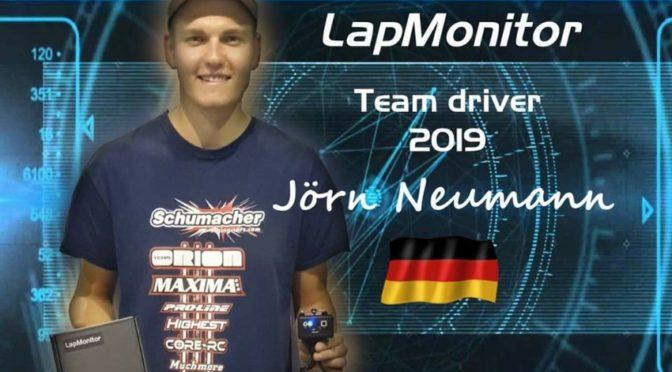 Jörn Neumann setzt auf LapMonitor