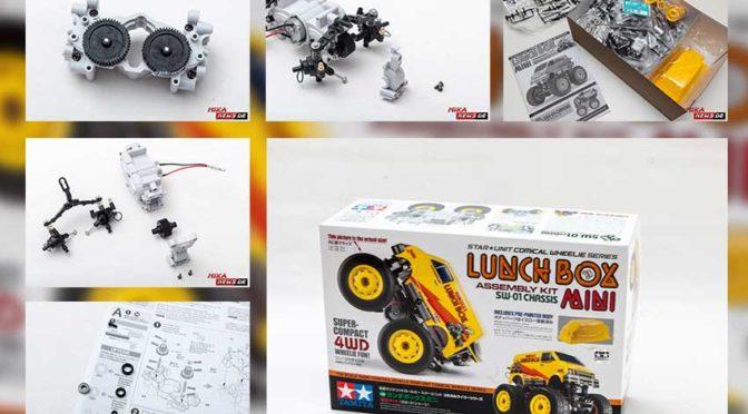 LUNCH BOX MINI SW-01 CHASSIS – Der Zusammenbau Teil 1