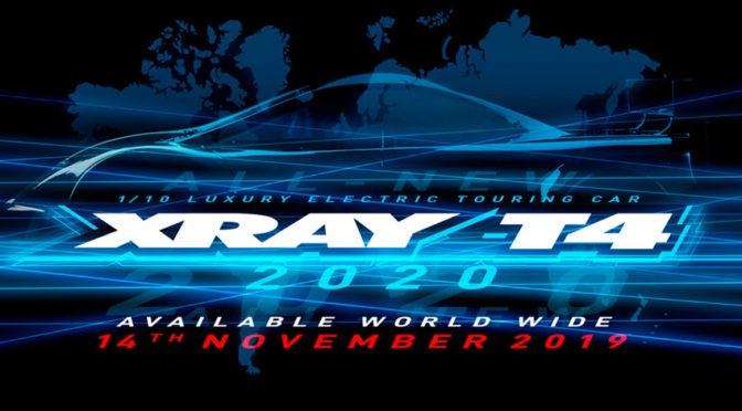 XRAY T4`20 – Verfügbar ab dem 14.November 2019