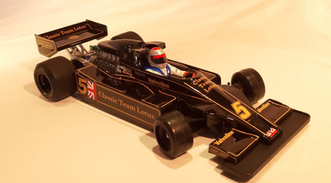 Classic Team Lotus 78 Karosserie für 1/10 Formel Pan Cars