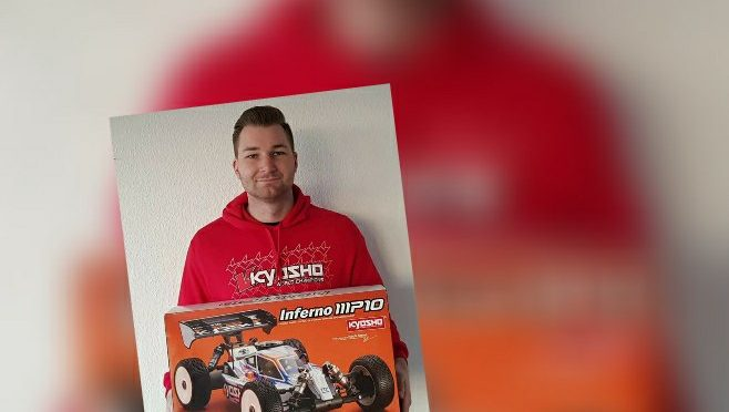 Marcel Krüger weiter beim Team Kyosho Europe