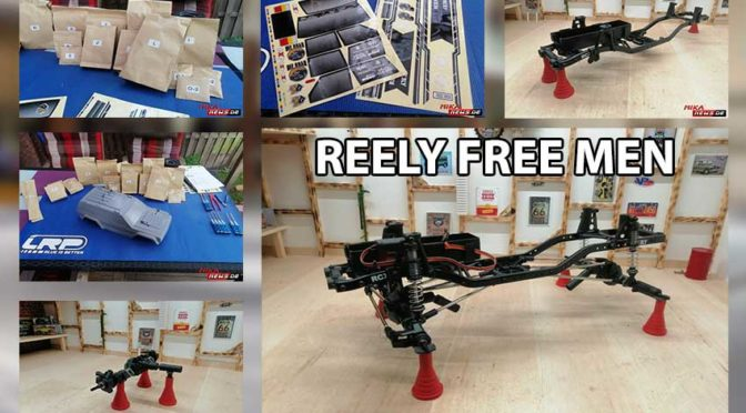 Reely FREE MEN – Aufbau des 1:10 ELEKTRO CRAWLER