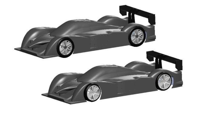 Design-Studie –  Sport-Prototyp Karosserie – Yankee 1/5