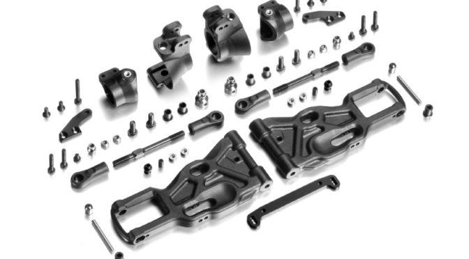 XRAY GTX8 & GTXE C-Hub Front Suspension Conversion Set
