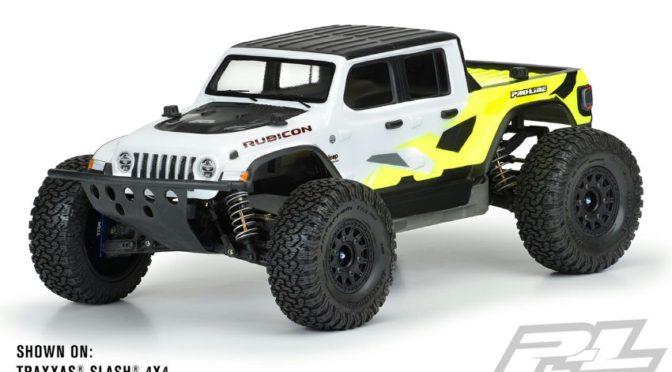 Jeep Gladiator Rubicon Karosserie von Pro-Line