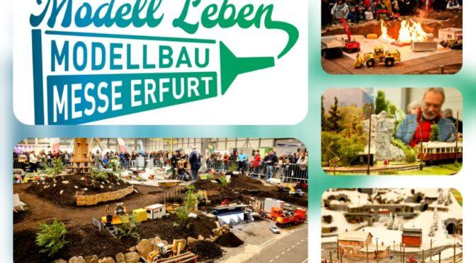 Unendliche Welten entdecken auf der Modell Leben 2020 in Erfurt