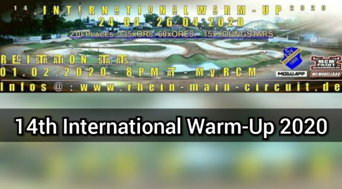 Das 14th International Warm-Up 2020 beim ESV