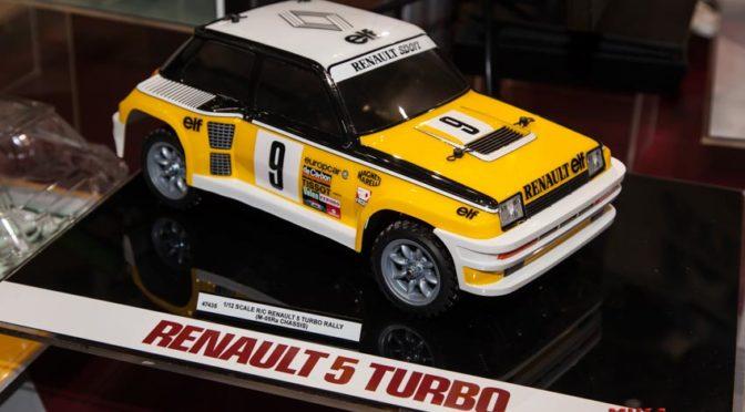 Neuheit – 1:12 RC Renault 5 Turbo Rally von Tamiya auf der Spielwarenmesse 2020 gezeigt