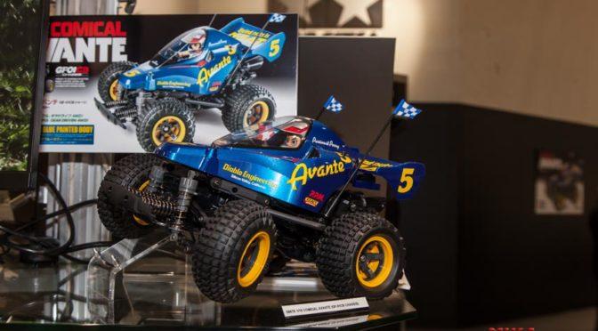 Der 1:10 RC Comical Avante GF-01CB wurde auf der Spielwarenmesse in Nürnberg gezeigt