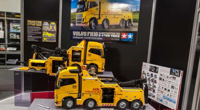 1:14 RC Volvo FH16 Abschlepper 8×4