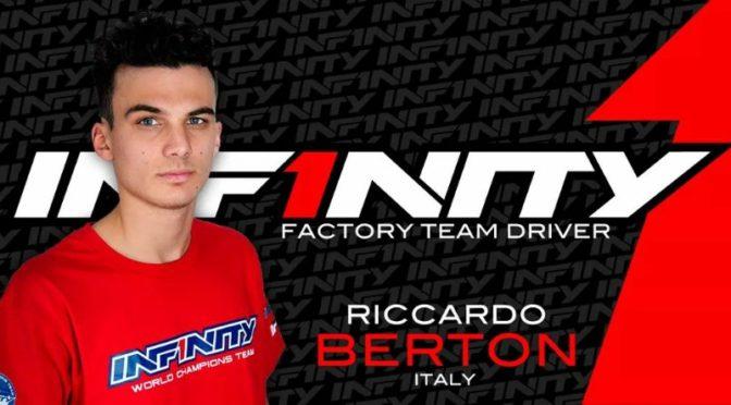 Riccardo Berton im Infinity Buggy Team