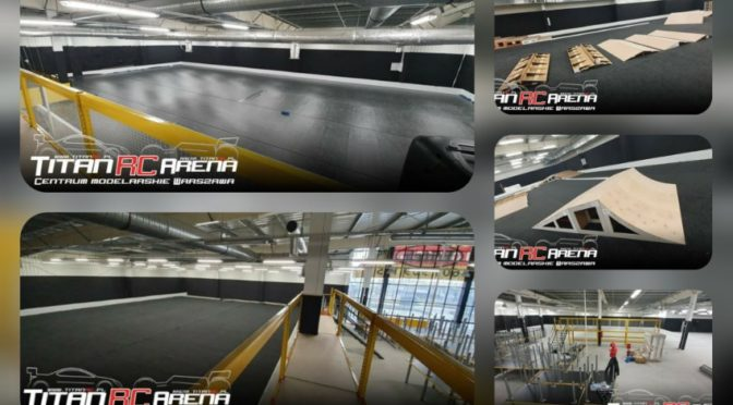 Ein großartiges RC-Car Paradies entsteht mit der Titan RC Arena