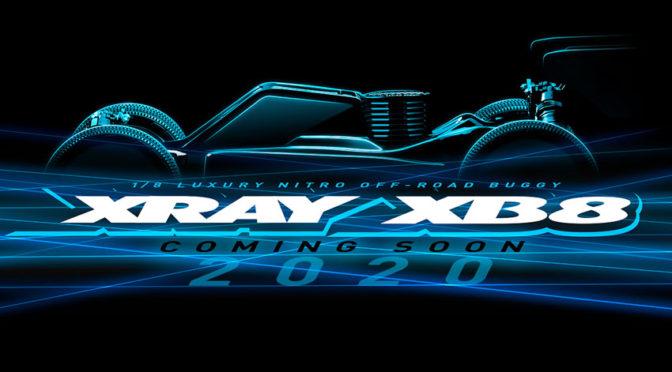 Der Xray XB8`20 steht in den Startlöchern